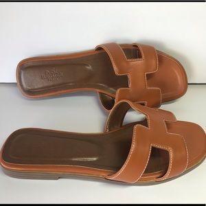 Hermès sandal size 37